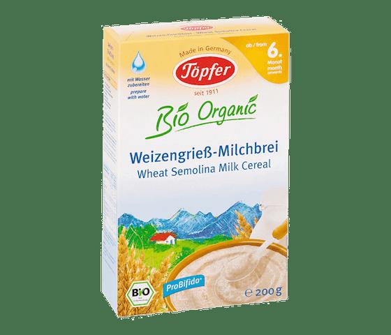 Topfer Bio Organic Sereal Susu Semolina 6 Bulan +