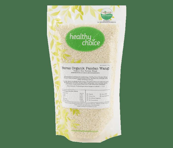 Healthy Choice Beras Pandan Wangi Organik 2 kg