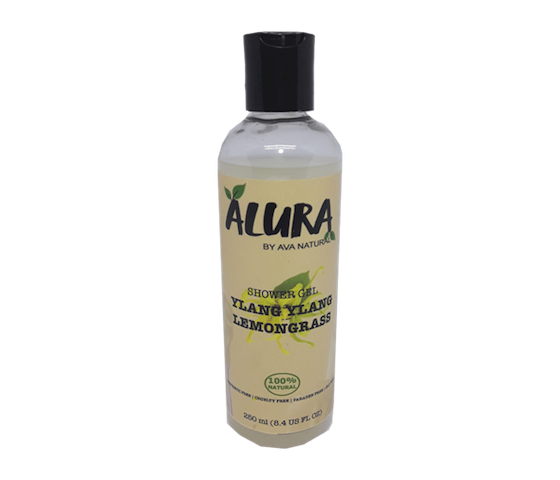 Alura Shower Gel Ylang Ylang Lemongrass 250 ml
