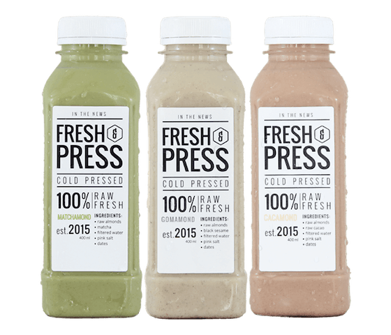 Fresh & Press Choose Your Flavor Pack of 3