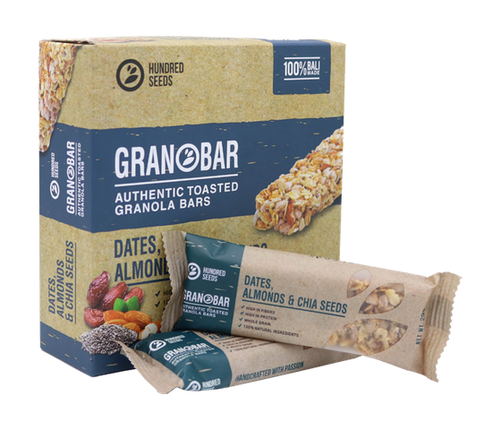 Granobar Dates, Almonds & Chia Seeds Box