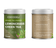Cocodeli Organic Tea & Blends Lemongrass Green Tea