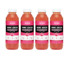 Acaii Pack of 4 Pome Green (4 x 500 ml)