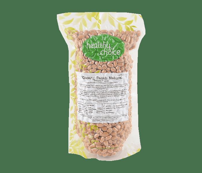 Healthy Choice Kacang Tanah Natural 500 gr
