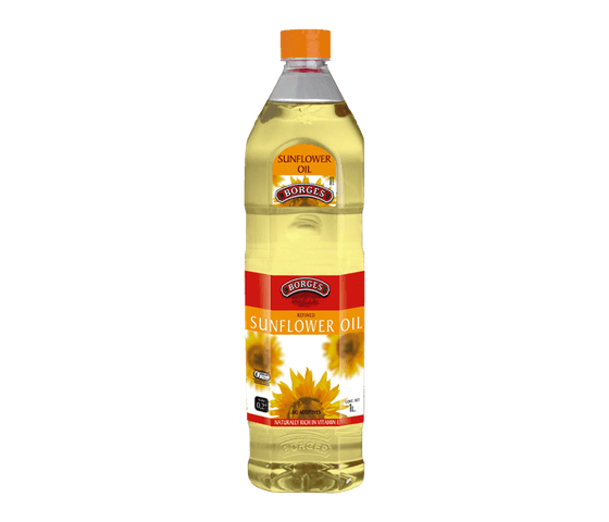 Borges Refined Sunflower Oil 1 L