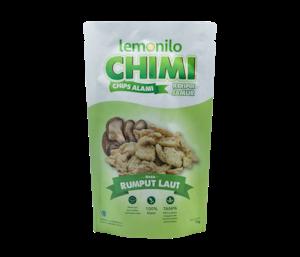 Lemonilo Chimi (Chips Alami) Keripik Jamur Rasa Rumput Laut