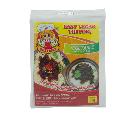 Easy Vegan Topping Rendang 60 gr