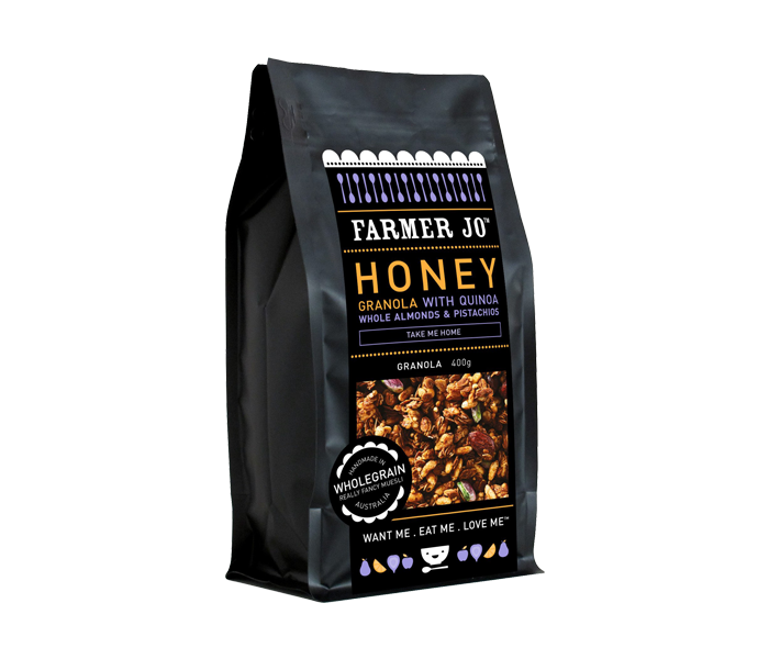 Farmer Jo Honey Granola 400 gr