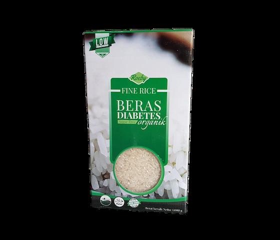 Roeby Fine Rice Sugar-Free Beras Diabetes Organik 1 Kg