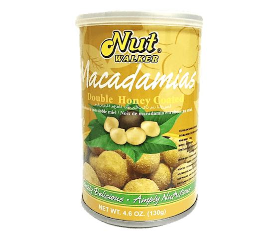 Nut Walker Macadamias Double Honey Coated 130 gr