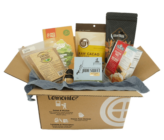 LemoniloBox Paket Baking Bebas Gluten & Telur
