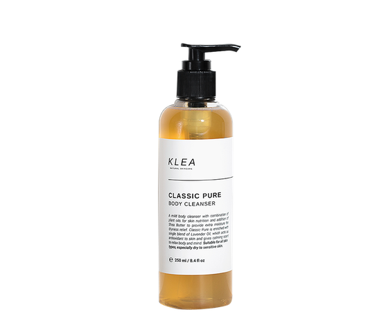 Klea Skincare Classic Pure Body Cleanser Full Size 250 ml