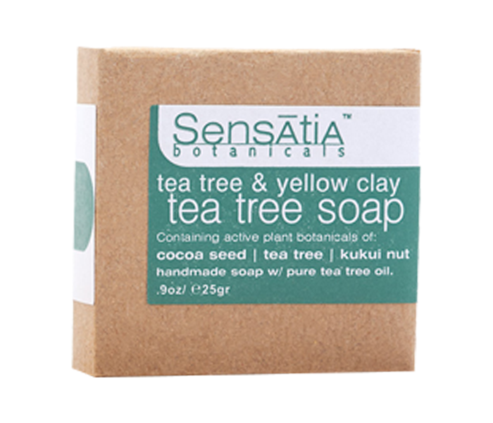Sensatia Bar Soap Tea Tree & Yellow Clay 25gr