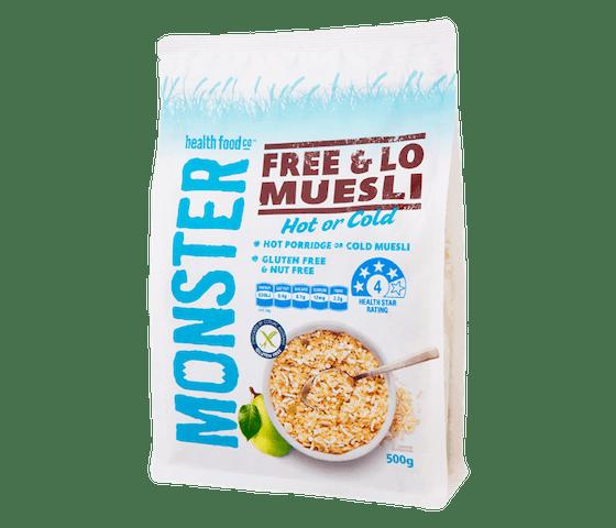 Monster Muesli Free & Lo