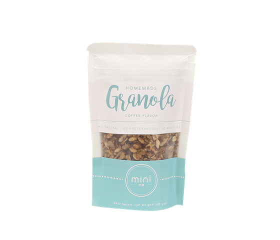 Minime Homemade Granola Coffee Flavour 100 gr