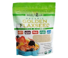 Maxifit Organic Cold Milled Golden Flaxseed