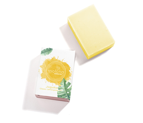 Molona Classic Lemongrass Soap Jogjakarta