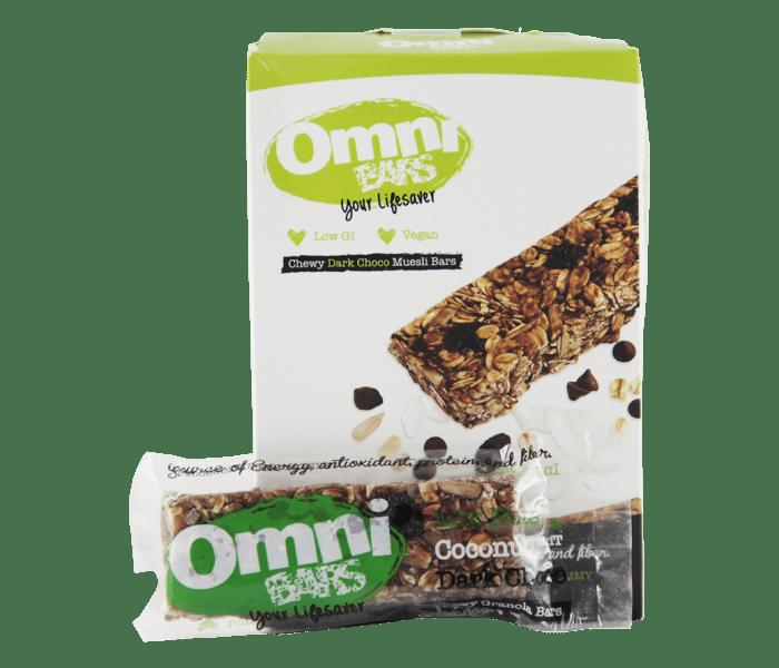 Jual Omni Bars Cokelat Kelapa hanya di Lemonilo.com