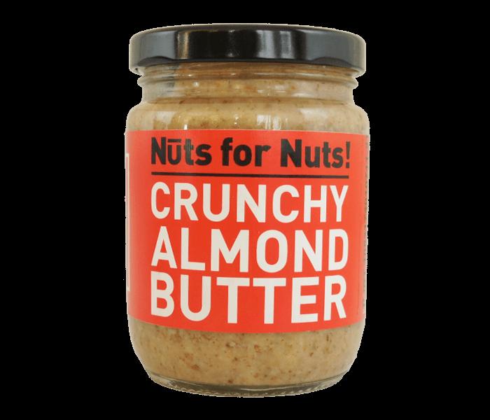 Jual Nuts for Nuts Selai Kacang Almond Crunchy hanya di Lemonilo.com