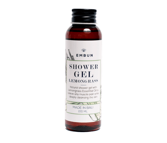 Embun Shower Gel Uplifting Lemongrass 100 ml