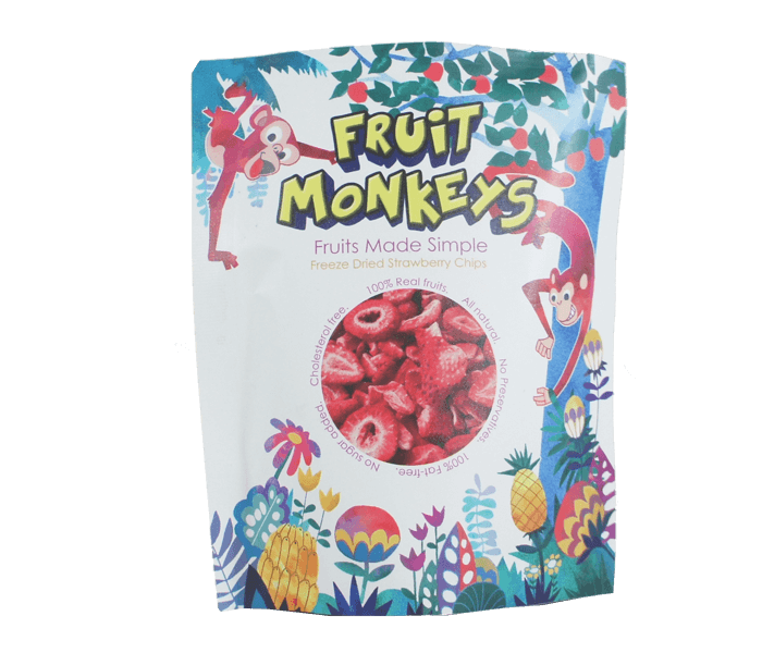 Fruit Monkeys Keripik Strawberry