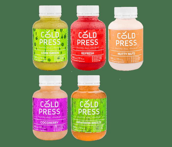 Jual Cold Press 5 Days Vitality Detox hanya di Lemonilo.com