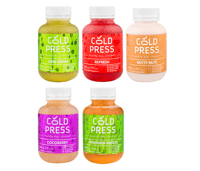 Cold Press 5 Days Vitality Detox