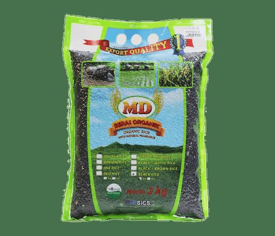 MD Beras Hitam Pecah Kulit Organik 2 Kg