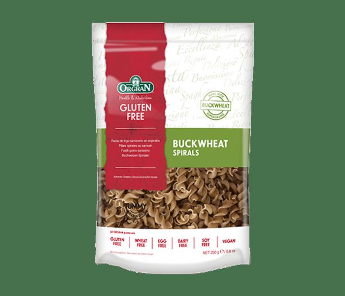 Orgran Pasta Buckwheat Spiral Bebas Gluten