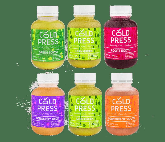Jual Cold Press 1 Day Skin Glow and Weight Maintenance hanya di Lemonilo.com