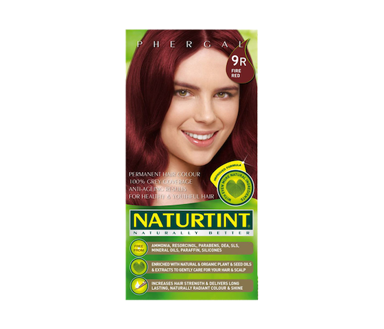 Naturtint Permanent Hair Color 9R (Fire Red)