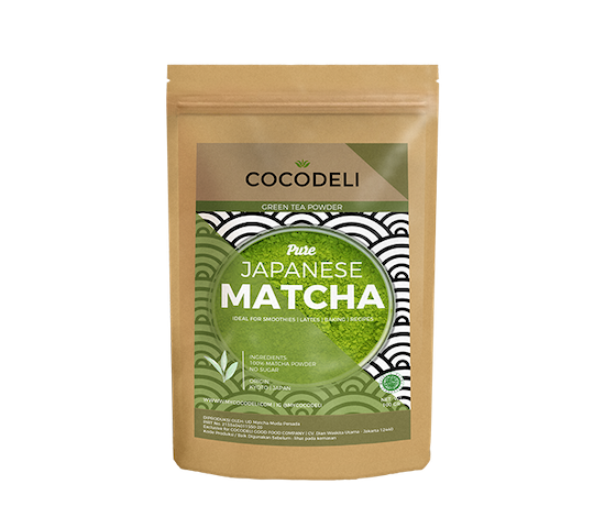 Cocodeli Pure Japanese Matcha Powder 50 gr