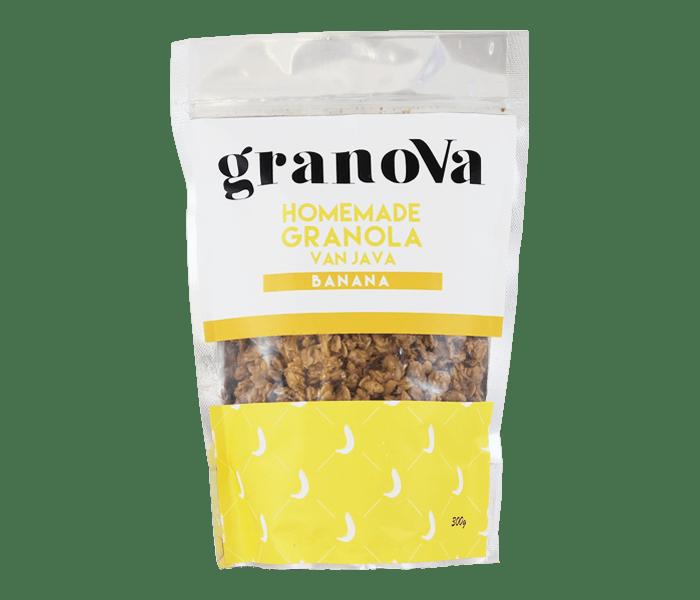 Granova Banana Homemade Granola 300 gr