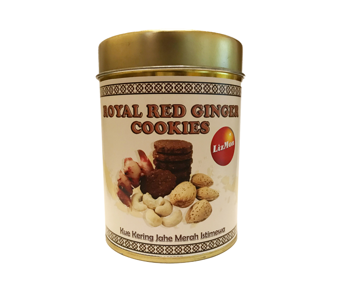 Lizmon Royal Red Ginger Cookies 120 gr