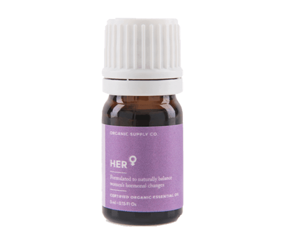 Organic Supply Her Essential Oil 10 ml