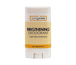 Good Vibes Organic Brightening Deodorant