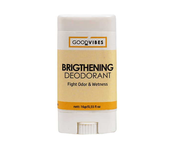 Good Vibes Organic Brightening Deodorant