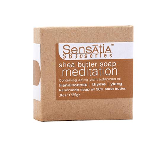 Sensatia Botanicals Meditation Shea Butter Soap 25 gr