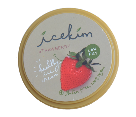 Icekim Ice Cream Strawberry 1 Liter (1 Kg)