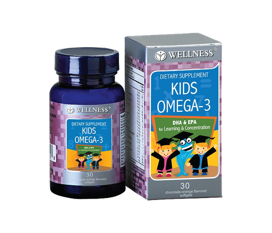 Wellness Kids Omega-3 30 Kapsul