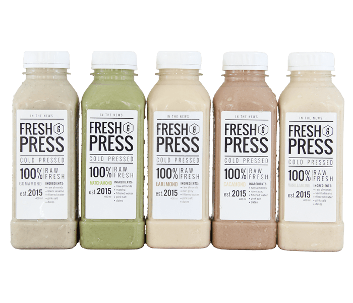 Fresh & Press Combo All Variants Almond Milk (Susu Almond)