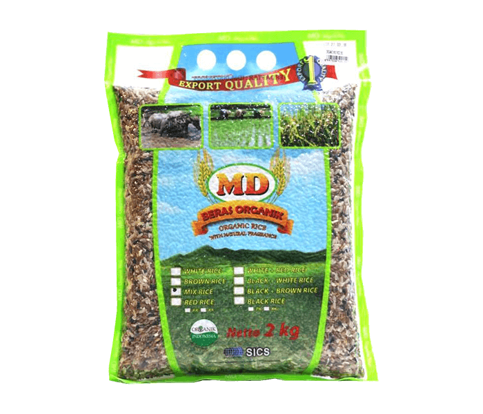 MD Beras Campur All Variant Organik 2 Kg