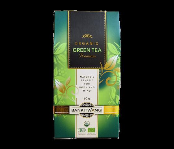 Bankitwangi Organic Green Tea Premium 60 gr