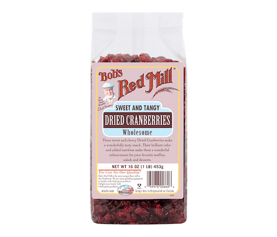 Bob's Red Mill Sweet and Tangy Dried Cranberries Wholesome 453 gr