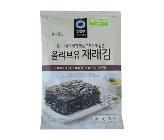 Chung Jung One Daesang Olive Oil Traditional Laver 20 gr