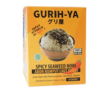 Gurih-Ya Abon Rumput Laut Pedas Box Sachet