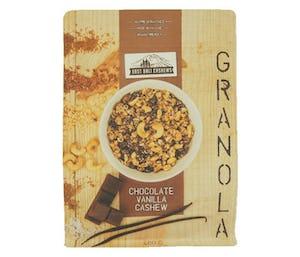 East Bali Cashews Granola Kacang Mede Cokelat Vanila 400 gr