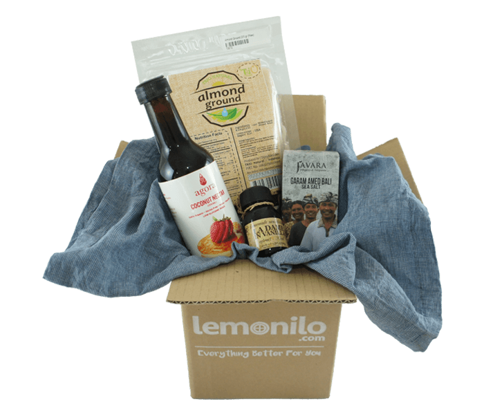 Jual LemoniloBox Paket Almond Milk Kit hanya di Lemonilo.com