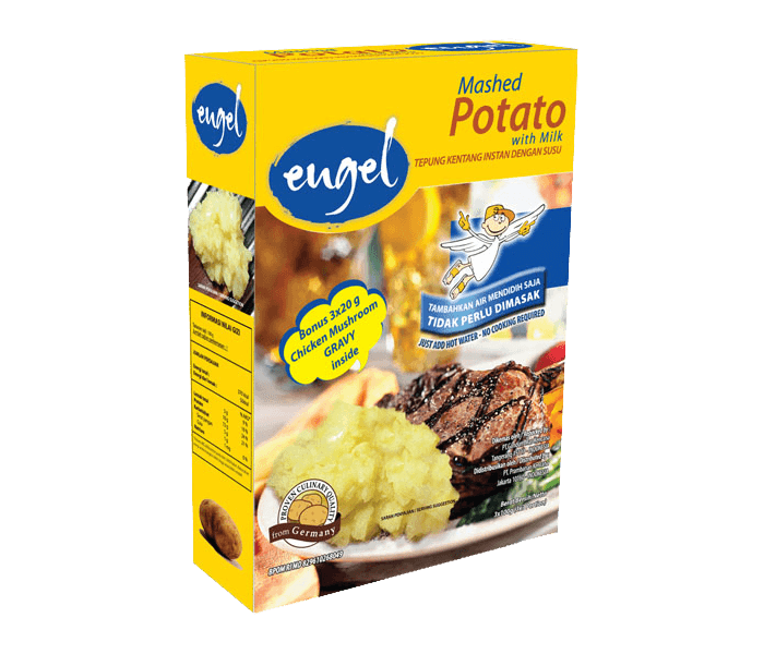 Engel Mashed Potato with Milk Box