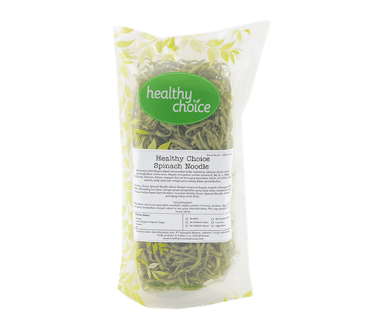 Healthy Choice Spinach Noodle 200 gr